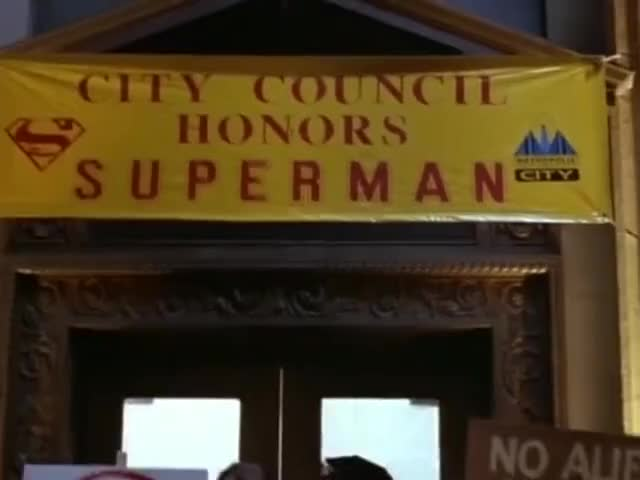 Superman must go! Superman must go!