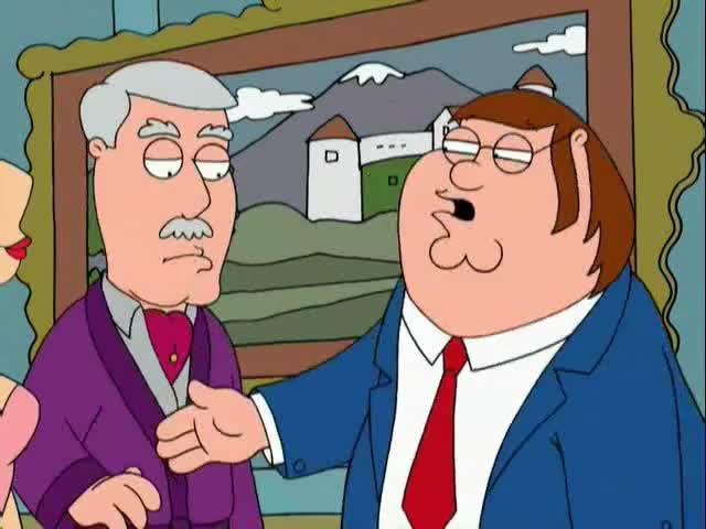 Peter Griffin. Can I take this tie off?