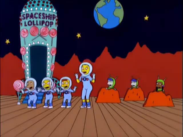 # On the spaceship Lollipop #