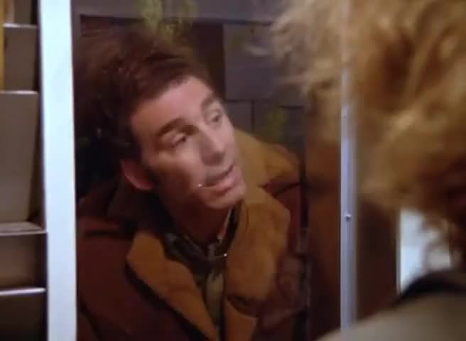 Come on, just look at me. Now tell me I'm not Kramer.