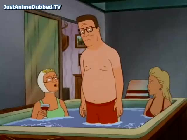 You, me, and Nancy were naked?