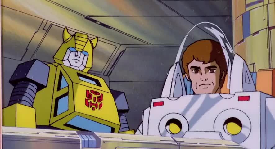 This is Spike and Bumblebee up here on Moon Base Two.