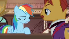and I need her help to convince a know-it-all pony