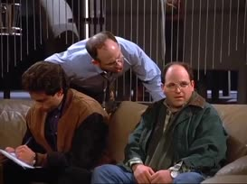 Clip thumbnail for 'Get a good look, Costanza?