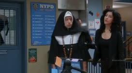 Sister Steve here got mugged.