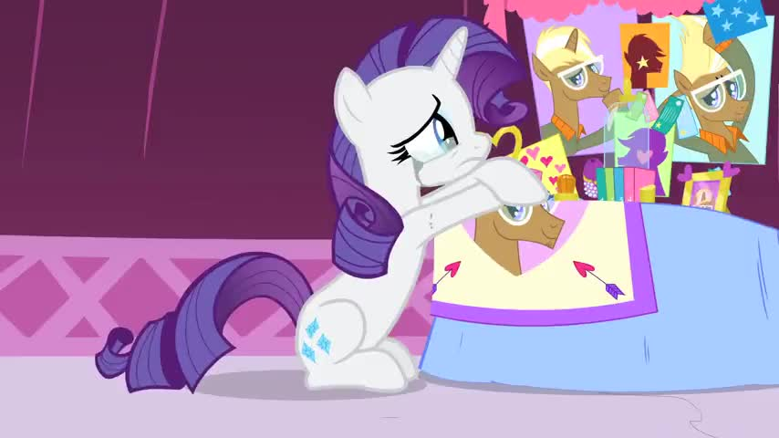 Clip image for 'to be totally obsessed with a pony