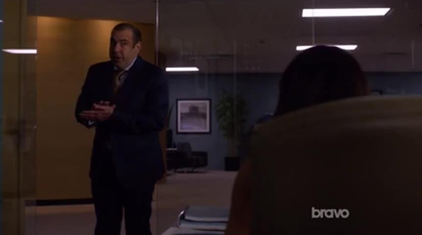 Teddy Doyle is Harvey's client.