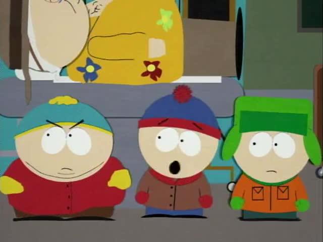 - Oh, my God! They've killed Kenny. - You bastards!