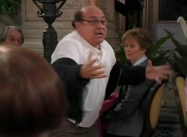 Somebody's got to get stabbed! Somebody's got to get sta...