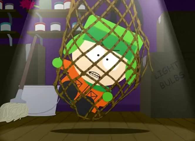 - Cartman! - Hello, Kyle.