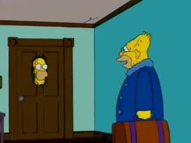- Hi, David. I'm Grampa. - D'oh!