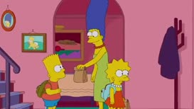 And, Bart, I'll pick you up after school