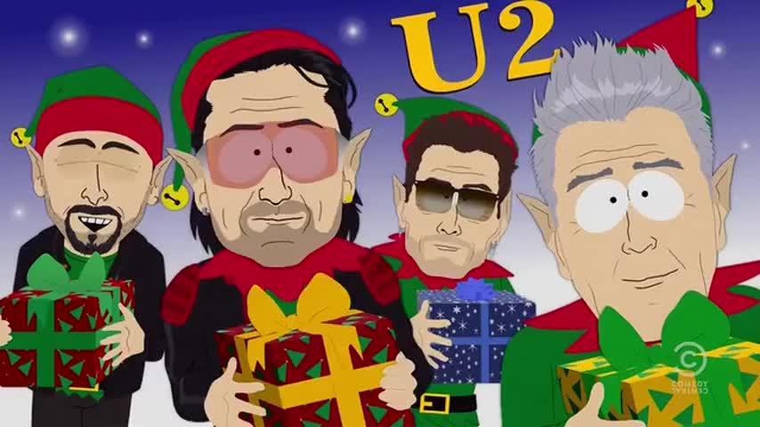 U2, Angelina Jolie,