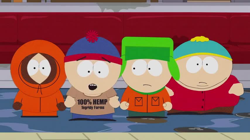 but we're the kids you got to help try and capture ManBearPig?