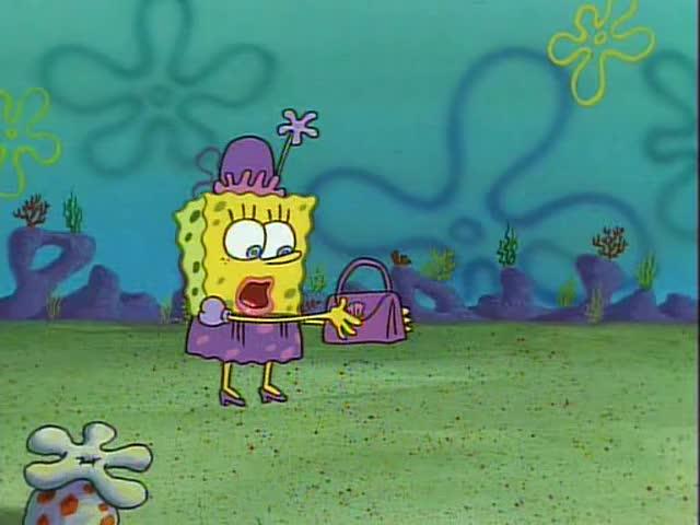 Yarn This Purse Is So Big And Heavy Spongebob Squarepants