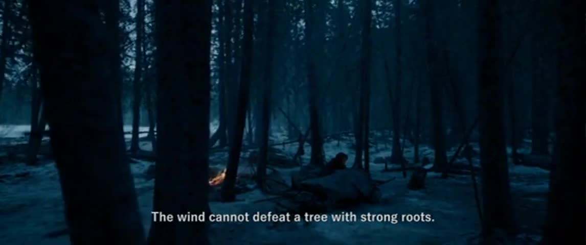 The wind cannot defeat a tree with strong roots.