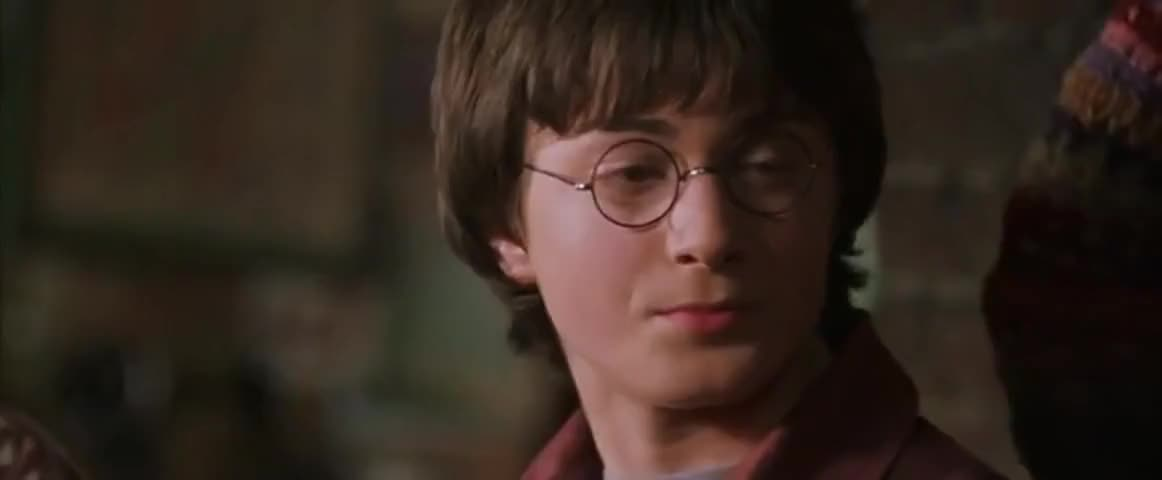 Sorry, sir. I'm Harry, sir. Harry Potter.