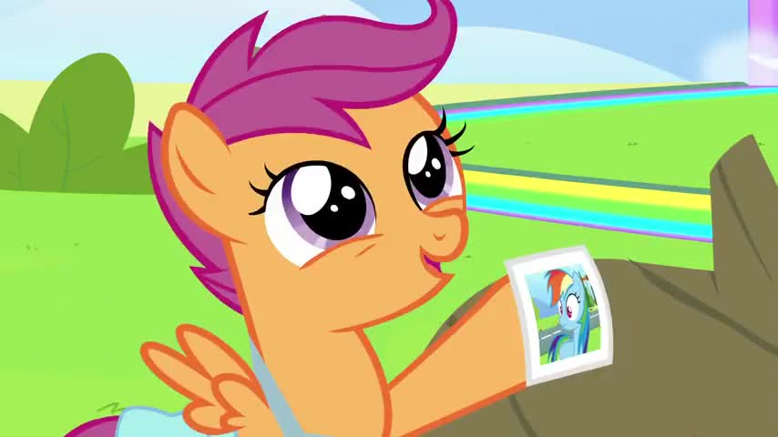 Rainbow Dash learns the error of her ways.
