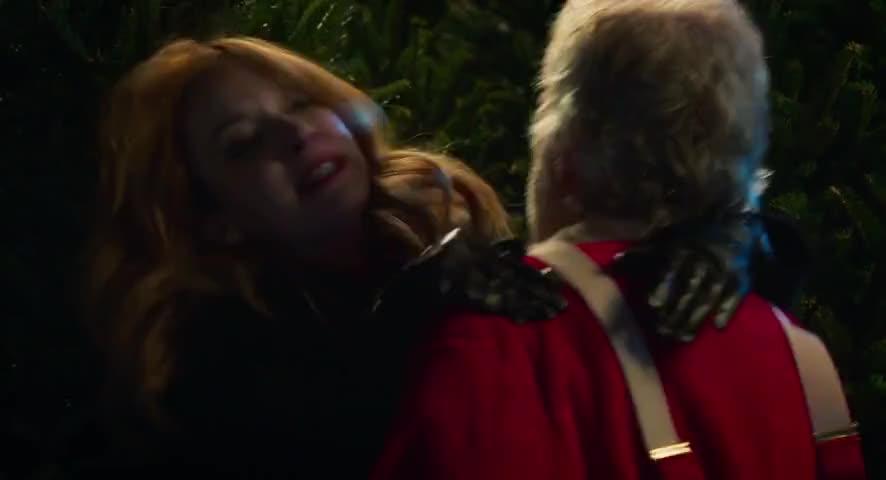 - Fuck me, Santa. - Louder.