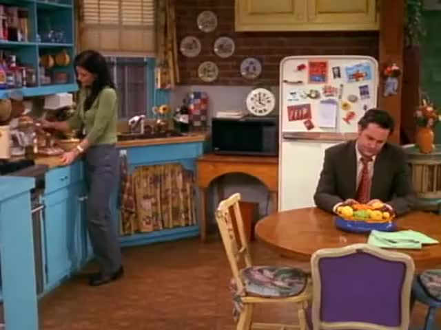Chandler, do we talk about our relationship enough?