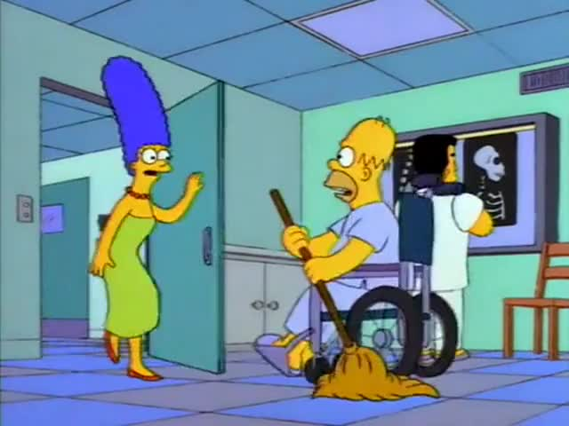 Clip image for '- Homie! - Marge!
