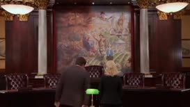 This mural is called Bad Pawnee, Good Pawnee.