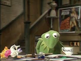 Kermit! Kermit! Kermit! Oh, listen, you've gotta read this!