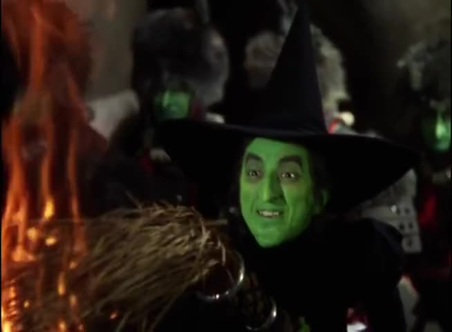 How about a little fire, Scarecrow?