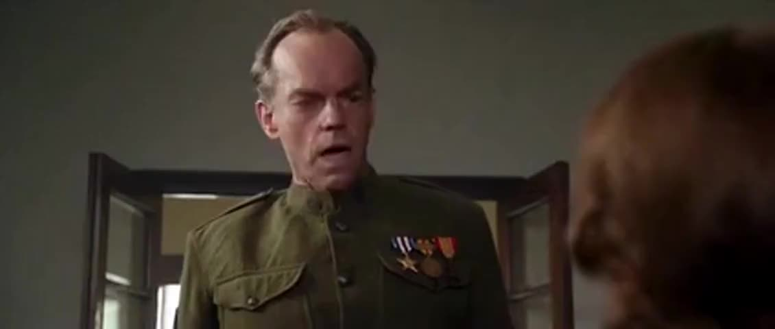 I wish to speak to Brigadier General Musgrove.