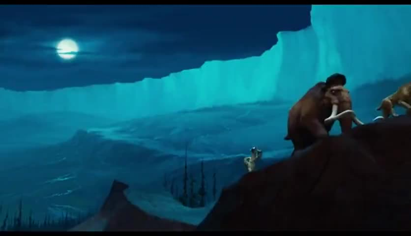 - All the mammoths are in the ground. - Stop singing Sid! Stop, hey-hey...What's that sound..?