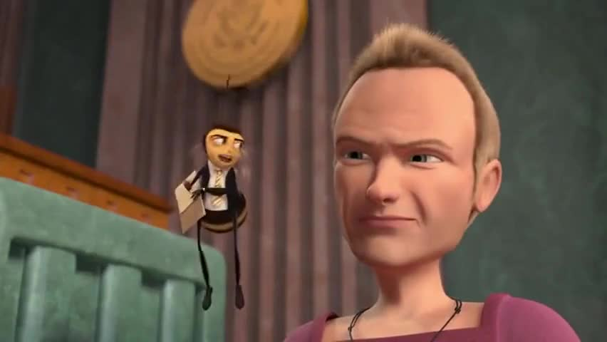 the girl from the bee movie