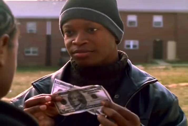 Money be green. Money feel like money.