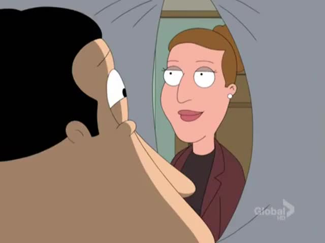 Quagmire: Oh, yuck.