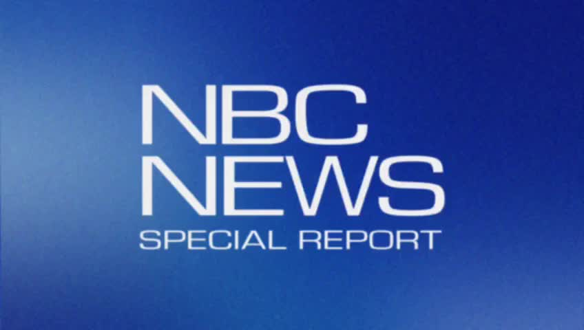 We interrupt this program to bring you an NBC news special report.
