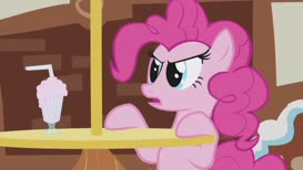 I *did* misjudge her! She's not only a meanie meanpants! She's also a thief!