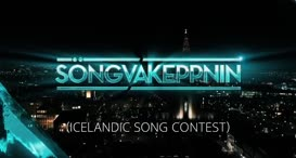 {\an8}Good evening and welcome to the 43rd Icelandic Song Contest.