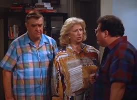 Jerry was necking during Schindler's List?