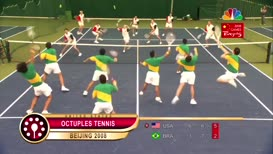 Or octuples tennis!