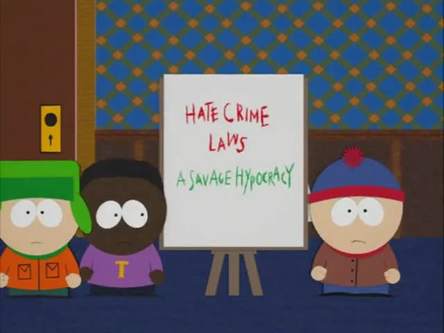 Clip image for 'Hate Crime Laws, a Savage Hypocrisy.