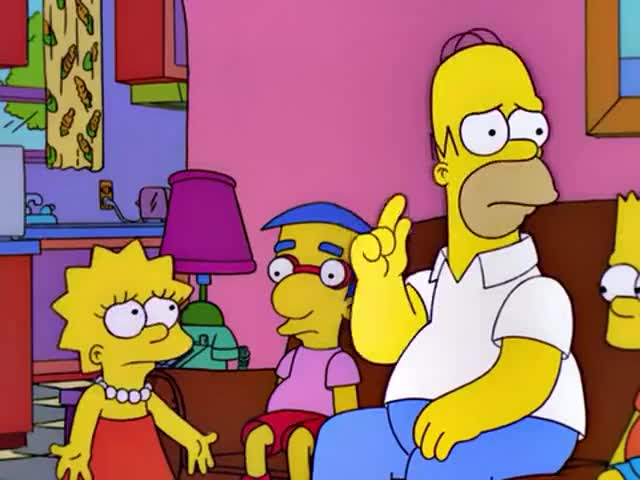 Marge, doesn't Lisa have a human face?
