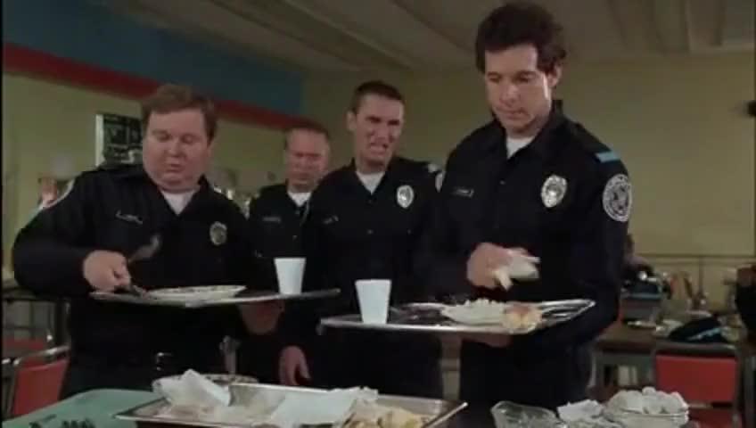 Yarn | How you doing, Ma-homo? ~ Police Academy (1984