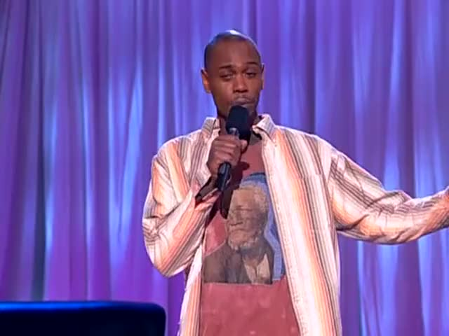 and we'll be right back with more Chappelle's Show.