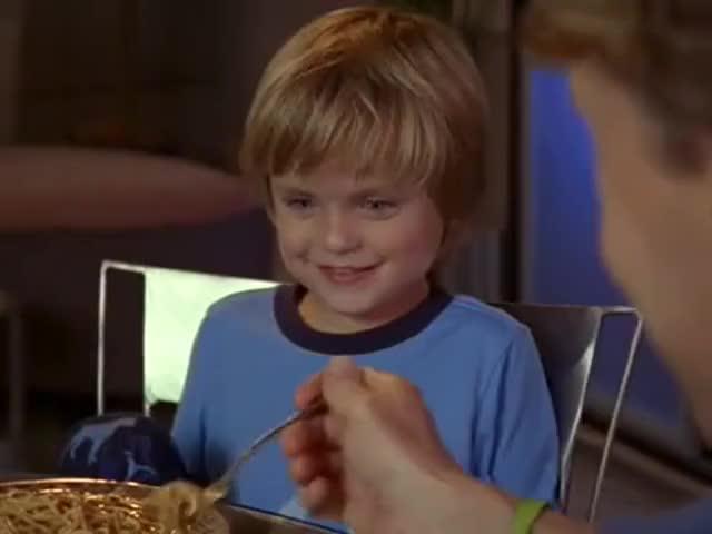 You love spaghetti. You had some just last night, didn't you?