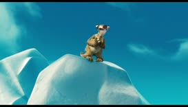 Sid! What are you doing? Get down from there!