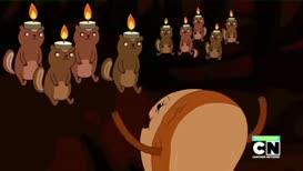 All hail the chipmunk king!
