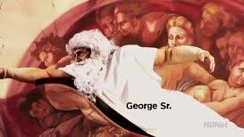 Michelangelo's The Creation of Adam.