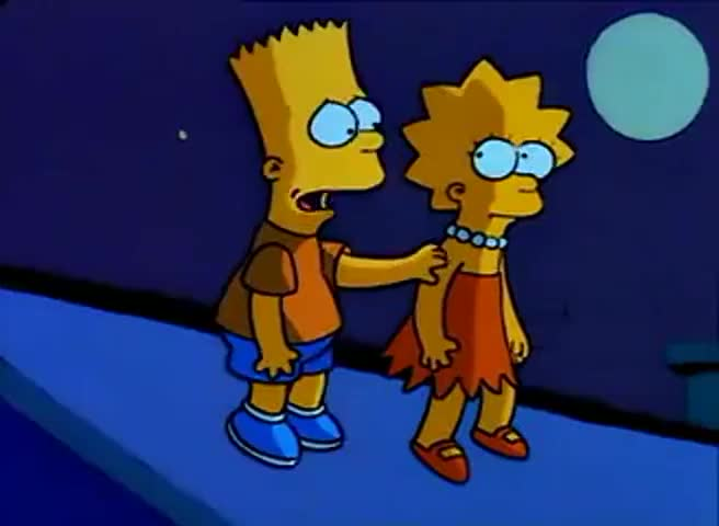 -I'm sorry, Lisa. -Apology accepted.