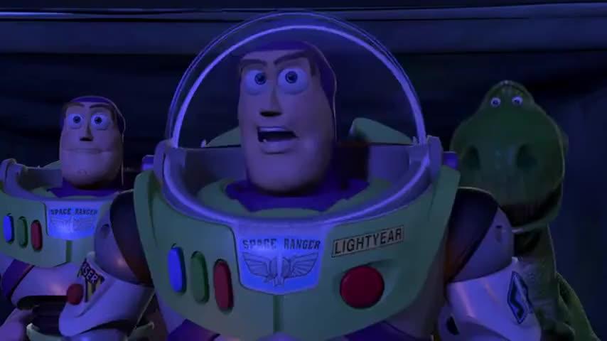 It's Zurg! Watch out! He's got an ion blaster!