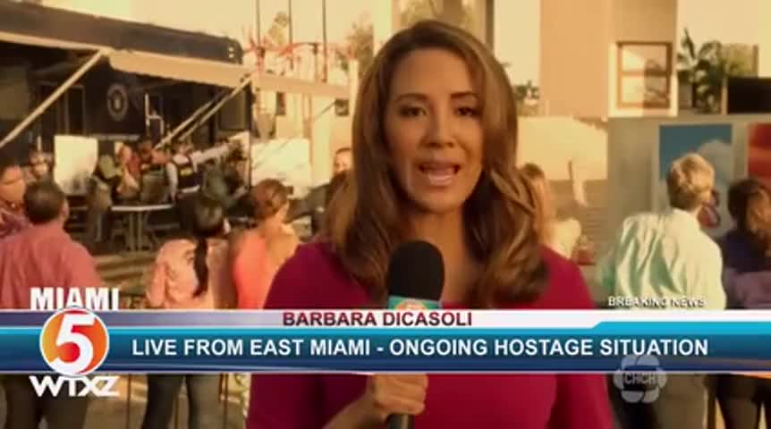 a hostage situation unfolding