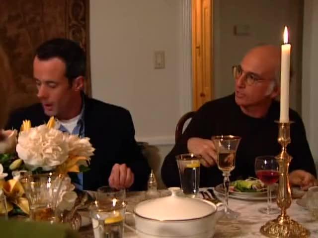 He said it's okay to start the salad, everybody.